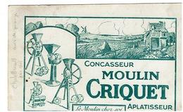 AGRICULTURE - CHATELLERAULT -  Carte Publicitaire - CONCASSEUR MOULIN CRIQUET - APLATISSEUR - Landbouw
