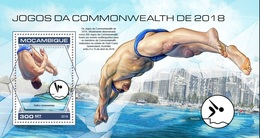 Mozambico 2018, Commonwealth Games, Swimming, BF - High Diving