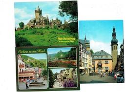 Lot 3 Cpm - Allemagne - Cochem An Der Mosel - Café Restaurant Bierstube - Animation - Chateau - Cochem