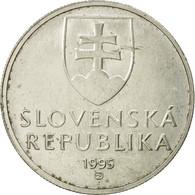 Monnaie, Slovaquie, 5 Koruna, 1995, TTB, Nickel Plated Steel, KM:14 - Slovakia