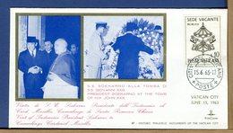 VATICANO - 1963 - VISITA PRESIDENTE INDONESIA ALLA TOMBA DI PAPA GIOVANNI XXIII - Cristianesimo