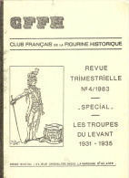 CFFH TROUPES DU LEVANT LIBAN SYRIE 1931 1935 UNIFORME CAVALERIE SYRIENNE DRUZE TCHERKESS - Books