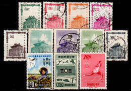 Taiwan-0041 - Emissione 1960-1964 - Senza Difetti Occulti. - 1945-... Repubblica Di Cina