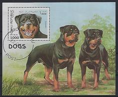 Somalia 1997 Dogs (o) M/S - Somalia (1960-...)