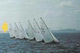 Estonia - Sailing Race, A + Inscript - Estonia