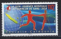 "Nle-Caledonie YT 1221 "" Donneurs De Sang "" 2014 Neuf** - Neufs"