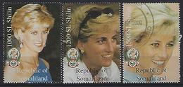Somalia 1997 Princess Diana  Mint + Used - Somalia (1960-...)