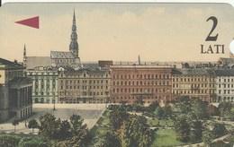 Latvia - Riga, Aspazijas Boulevard - Latvia