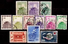 Taiwan-0042 - Emissione 1960-1964 - Senza Difetti Occulti. - 1945-... Repubblica Di Cina