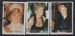 SaoTome E Principe 1997 Princess Diana  (o) - Sao Tome And Principe
