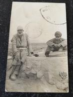Iran // Sistan // Photocard H.Otto 1910 // Local Tribes Men // Used 1910 Very Rare - Iran