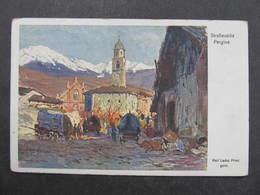 AK PERGINE Valsugana Rotes Kreuz Kriegshilfsbüro  Nr. 407 ///  D*34574 - Italien