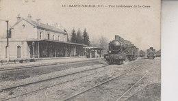 SAINT  YRIEIX  VUE INTERIEURE DE LA GARE - Saint Yrieix La Perche