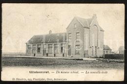 Postkaart / Postcard / Wiekevorst / Heist-op-den-Berg / 2 Scans / De Nieuwe School / 1907 - Heist-op-den-Berg