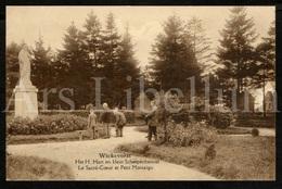 Postkaart / Postcard / Wiekevorst / Heist-op-den-Berg / Unused / 2 Scans / H. Hart En Klein Scherpenheuvel - Heist-op-den-Berg