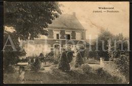 Postkaart / Postcard / Wiekevorst / Heist-op-den-Berg / Unused / 2 Scans / Pastorij / Presbytère - Heist-op-den-Berg