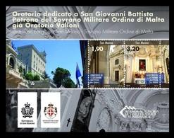 San Marino 2013 Mih. 2561/62 (Bl.66) Church Of San Giovanni Battista (joint Issue San-Marino-Order Of Malta) MNH ** - San Marino
