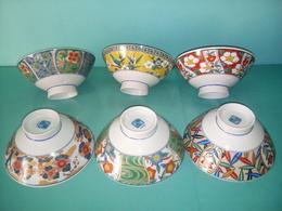 Tazze Da Thè In Porcellana Giapponese - Ceramica & Terraglie