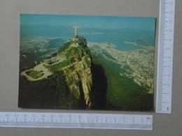 BRASIL - CORCOVADO -  RIO DE JANEIRO -   2 SCANS  - (Nº25347) - Rio De Janeiro
