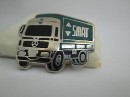 PIN'S   CAMION  MERCEDES   S M A T    Zamac - Mercedes