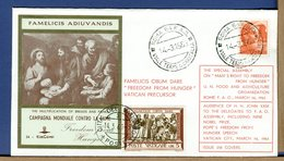 ITALIA - 14.3.1963 - ROMA - CAMPAGNA CONTRO LA FAME - UDIENZA GIOVANNI XXIII AI DELEGATI FAO    RR  LUSSO - Contro La Fame