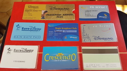 8 Passeport Ou Autres Disney - Francia