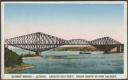 Quebec Bridge, Quebec, C.1910s - International Fine Art Co Postcard - Levis