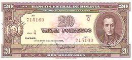 Bolivia   20 BolivianoS  1945  UNC - Bolivie