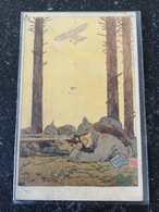 Militair Feldpostkarte // Promotion - Werbung // H.Bahlsens Keks Fabrik Hannover 19?? - Guerra 1914-18