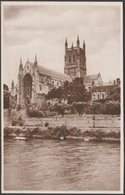 The Cathedral From The Severn, Worcester, C.1905 - Tuck's RP Postcard - Worcestershire