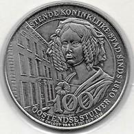 100 OOSTENDSE STUIVER 1982  OOSTENDE - Gemeentepenningen