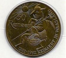 50 REINAERD 1982  ST NIKLAAS - Gemeentepenningen