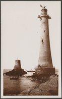 Eddystone Lighthouse, Devon, C.1920s - Chapman RP Postcard - England