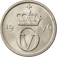 Monnaie, Norvège, Olav V, 10 Öre, 1976, TTB, Copper-nickel, KM:416 - Norvège