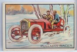 CHROMO Systeme ORIGINAL COLLECTOR N° 3 ANTIQUE AUTOS PULLMAN RACER EXPLICATION  DOS 3D BOWMAN GUM B.G.H.L.I. 1953 U.S.A. - Autos