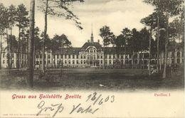 BEELITZ, Sanatorium Pavillon 1 (1903) AK - Beelitz