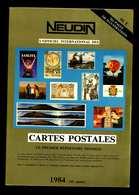 Catalogue Neudin 1984 Trés Bon état - Livres