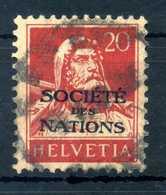 1924-37 SVIZZERA Servizio N.52 USATO - Servizio