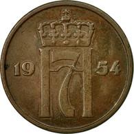 Monnaie, Norvège, Haakon VII, 5 Öre, 1954, TB+, Bronze, KM:400 - Norvège