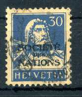 1924-37 SVIZZERA Servizio N.54 USATO - Servizio
