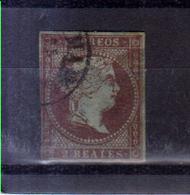 Año 1855 Edifil 42 2r Sello Isabel II - 1850-68 Kingdom: Isabella II