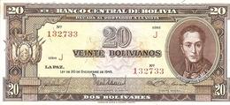 Bolivia   20 Bolivianos  1945 - Bolivia