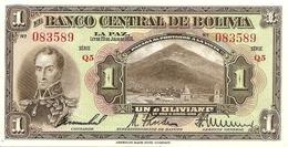 Bolivia   1 Boliviano  1928 - Bolivie