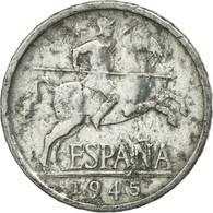 Monnaie, Espagne, 5 Centimos, 1945, TB, Aluminium, KM:765 - 5 Centimos