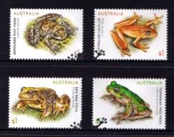 Australia 2018 Frogs Set Of 4 Used - Oblitérés