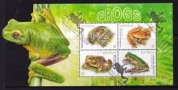 Australia 2018 Frogs Minisheet Used - 2010-... Elizabeth II