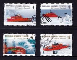 Australian Antarctic 2018 RSV Aurora Australis Set Of 4 Used - Australian Antarctic Territory (AAT)