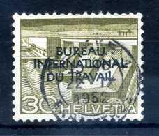 1950 SVIZZERA Servizio N.321 USATO - Servizio