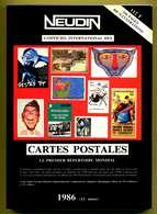 Catalogue Neudin 1986  Trés Bon état - Books