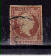 Año 1856 Edifil 50 2 RI Sabel II Matasellos Rueda Carreta - 1850-68 Kingdom: Isabella II